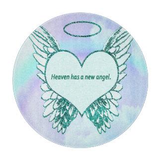 天国に新しい天使があります カッティングボード