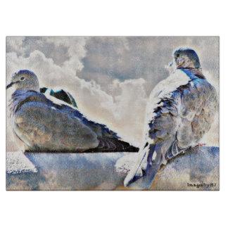 天国のまな板の鳩 カッティングボード