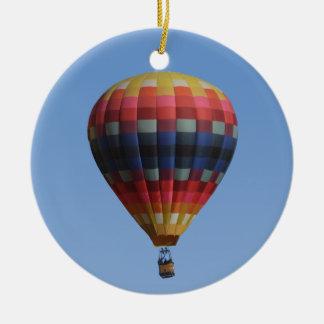 天国のキルトの熱気の気球のオーナメント セラミックオーナメント