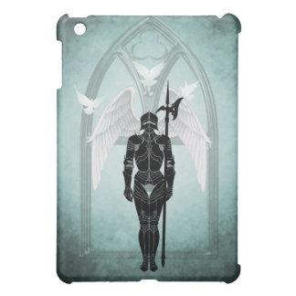 天国のゲートのティール(緑がかった色)の騎士を守ること iPad MINIケース