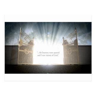 天国のゲートの開始 ポストカード