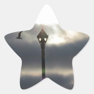 天国のドア 星シール