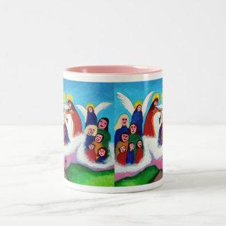 天国のメリー ツートーンマグカップ