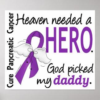 天国の必要な英雄のお父さんの膵臓癌 ポスター