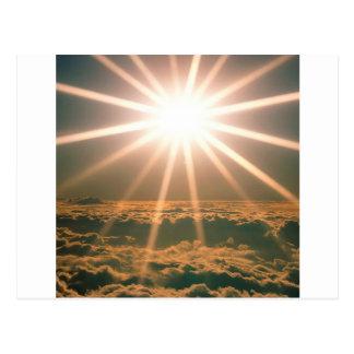 天国の空の視野 ポストカード