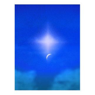 天国の美しく新しい日 ポストカード