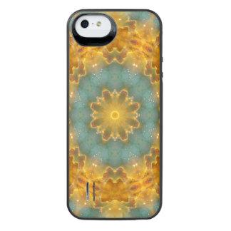 天国の花の曼荼羅 iPhone SE/5/5sバッテリーケース