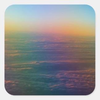 天国の虹 スクエアシール