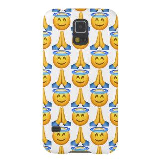 天国のEmoji Samsungの銀河系S5の電話箱 Galaxy S5 ケース