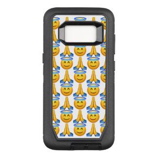 天国のEmoji Samsungの銀河系S8のオッターボックスの場合 オッターボックスディフェンダーSamsung Galaxy S8 ケース