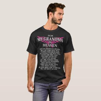 天国のTシャツの私の祖母のため Tシャツ