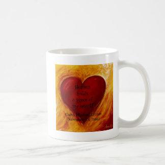 天国はマグを握ります コーヒーマグカップ