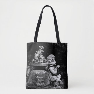 天国への天使そしてマウスAのキス トートバッグ