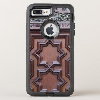 天国への神の出入口のスペインのな教会ドアの家 オッターボックスディフェンダーiPhone 8 PLUS/7 PLUSケース