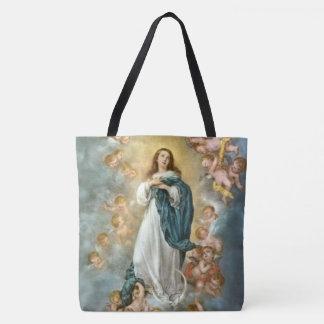 天国への聖母の被昇天 トートバッグ