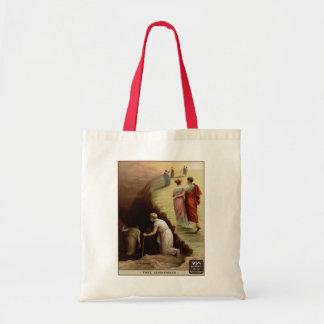 天国または地獄のヴィンテージ広告 トートバッグ