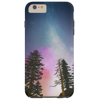 天国まで照る美しい夜空 TOUGH iPhone 6 PLUS ケース