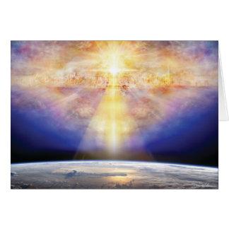 天国及び地球 グリーティングカード