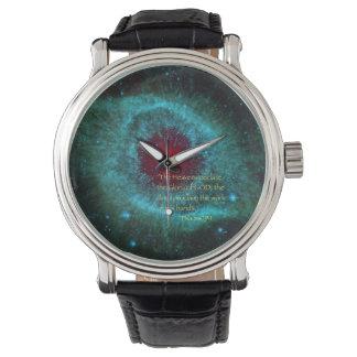 """""""天国宣言します""""は 腕時計"""