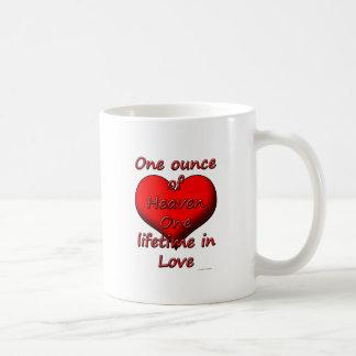 天国、愛の1の寿命の1オンス コーヒーマグカップ