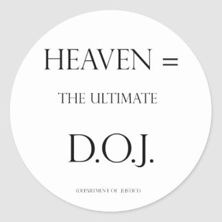 天国=最終的なD.O.J. ラウンドシール