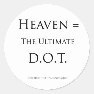 天国=最終的なD.O.T. ラウンドシール