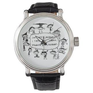 天恵を直す海 腕時計