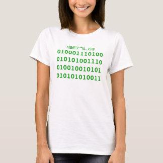 天才バイナリ Tシャツ