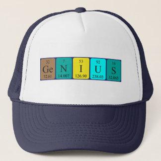 天才周期表の名前の帽子 キャップ