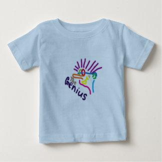 天才 ベビーTシャツ