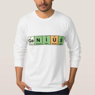 天才-要素 Tシャツ