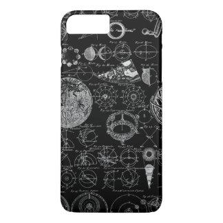 天文学のテーブル iPhone 8 PLUS/7 PLUSケース