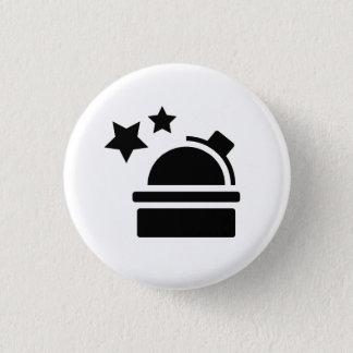天文学のピクトグラムボタン 3.2CM 丸型バッジ