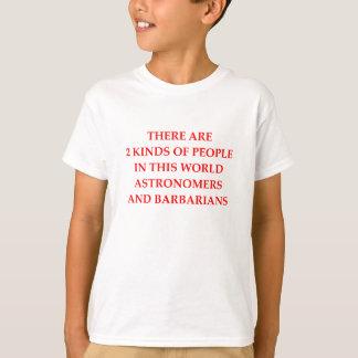 天文学者 Tシャツ
