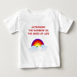 天文学 ベビーTシャツ