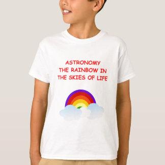 天文学 Tシャツ