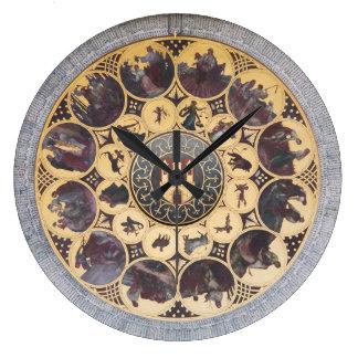 天文時計 ラージ壁時計