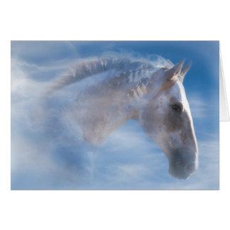 天然アメリカインディアンの子馬のハッピーバースデーカード カード