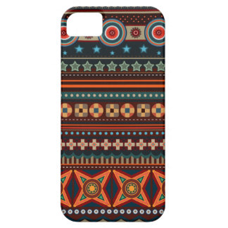 天然インドの民族パターン iPhone 5 ベアリーゼアケース
