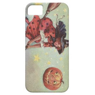 天狗巣のハロウィーンのカボチャのちょうちんの飛んでいるな星 iPhone SE/5/5s ケース