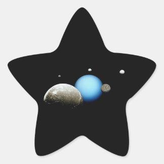 天王星および月NASAの宇宙 星シール