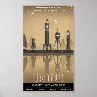 天王星の残り停止 ポスター