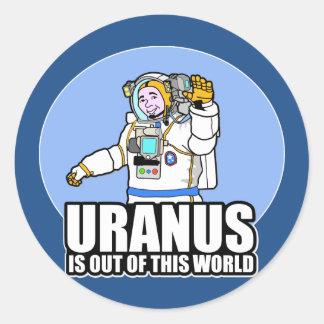 天王星はこの世界からあります ラウンドシール