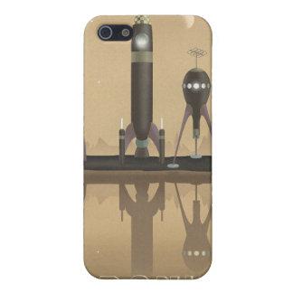 天王星への宇宙旅行ポスター iPhone 5 カバー