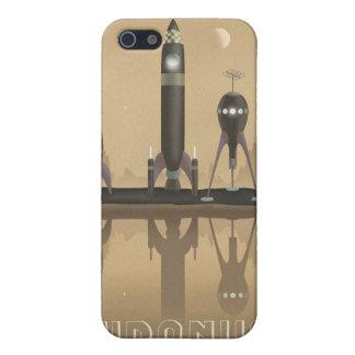 天王星への宇宙旅行ポスター iPhone 5 ケース
