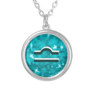 天秤座のネックレス シルバープレートネックレス