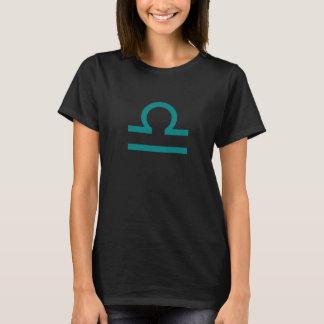 天秤座の印の(占星術の)十二宮図のCosplayのTシャツ Tシャツ