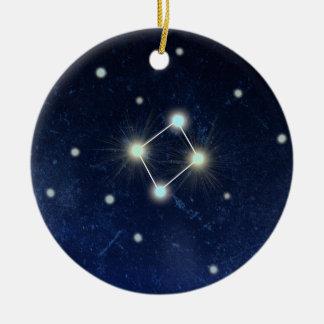 天秤座の星座|の名前をカスタムする セラミックオーナメント