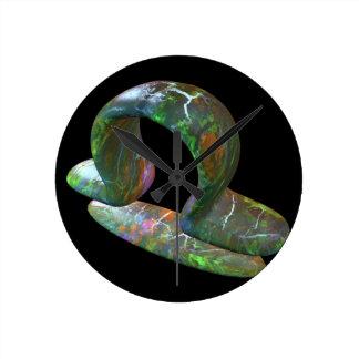 天秤座 ラウンド壁時計