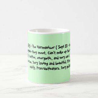 天秤座- Harmonizer (22 9月10月23日) Nic… コーヒーマグカップ
